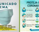Câmara de Anajás cancela reuniões ordinárias do mês março em razão da Pandemia.